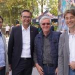 Besuch-des-1.-Bürgermeisters-bei-der-Eröffnung-des-Skatesparks-2017